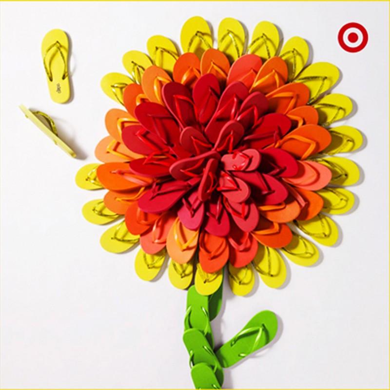 Flip Flop Flower-Target