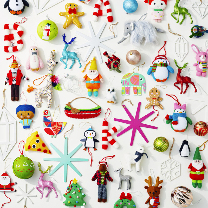 Target ornaments