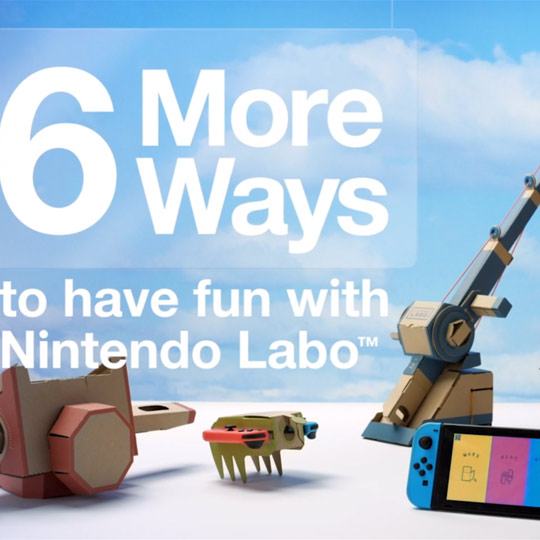 More ways with Nintendo