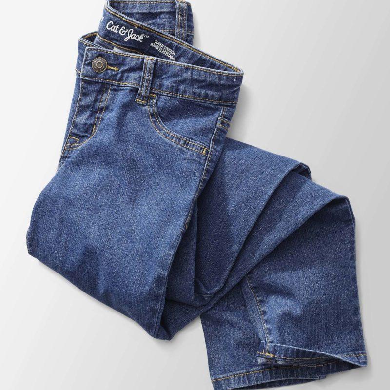 Target Girl's Jeans Laydown